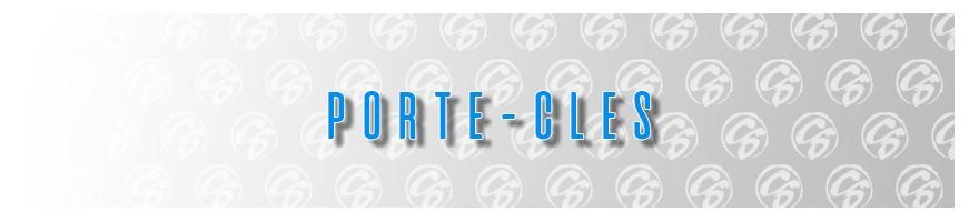 PORTE CLES