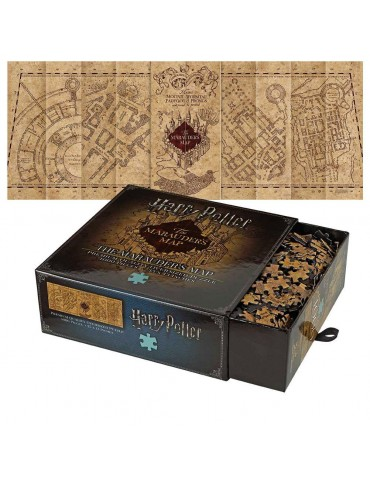 Harry Potter - The Marauder's Map - Puzzle 3D