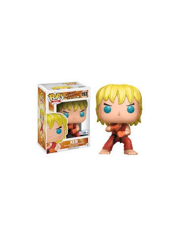 Funko POP - Street Fighter - 193 - Ken