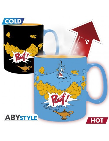DISNEY - Mug Heat Change - 460 ml - Aladdin Génie