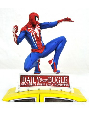 Marvel Gallery diorama PS4 Spider-Man on Taxi