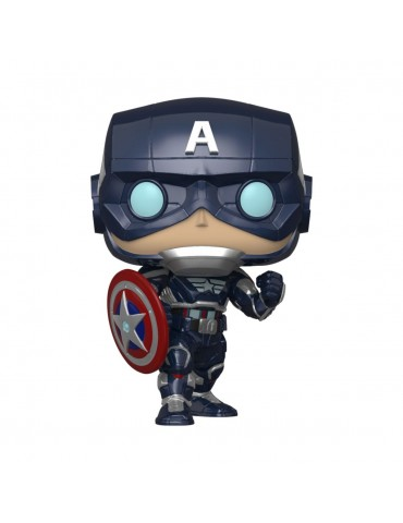 Funko POP - Avengers (2020 Video Game) - Captain America