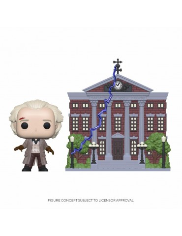 Funko POP - Retour Vers Le Futur - 15 - Doc with Clock Tower