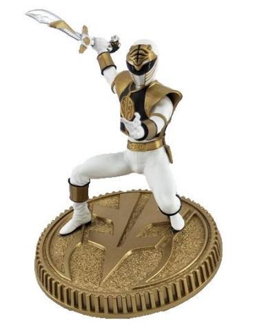 Mighty Morphin Power Rangers statuette PVC White Ranger