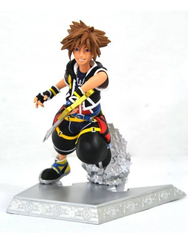 Kingdom Hearts Gallery statuette Sora 18 cm
