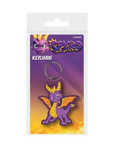 Spyro the Dragon porte-clés caoutchouc Dragon Stance 6 cm
