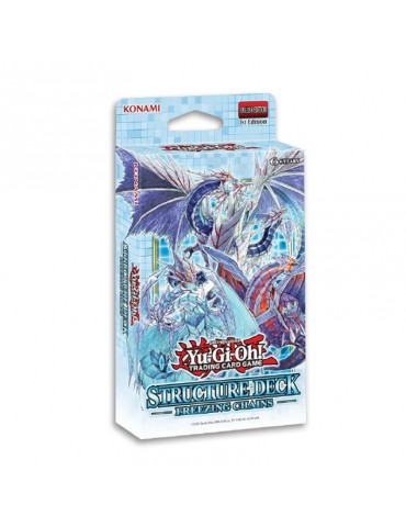 Yu-Gi-Oh Card Game - Deck de structure - Les Chaines Glaciales
