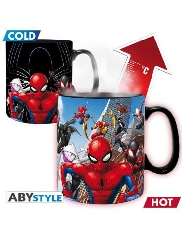 MARVEL - Mug Heat Change - 460 ml Multiverse Spider-Man