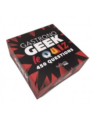 Boîte Gastronogeek : le quiz: 450 questions