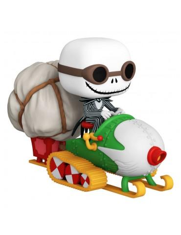 L´étrange Noël de Mr. Jack POP! Rides Vinyl figurine Jack w/Goggles & Snowmobile