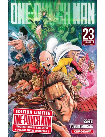 One Punch Man - Tome 23 - ed. collector