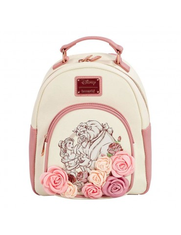 Disney by Loungefly sac à dos Beauty and the Beast Flowers