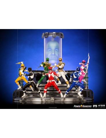 PRECO - Power Rangers statuettes 1/10 BDS Art Scale Full Set