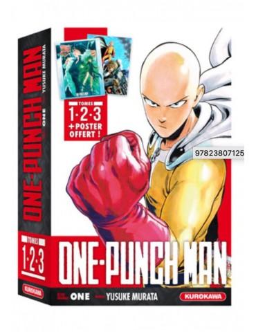 One Punch Man - Coffret 1 a 3