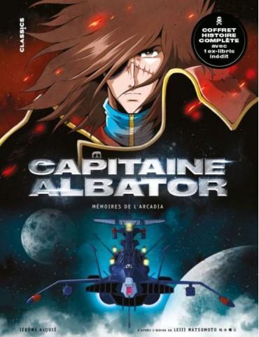 Captain Albator - Bd 1 a 3